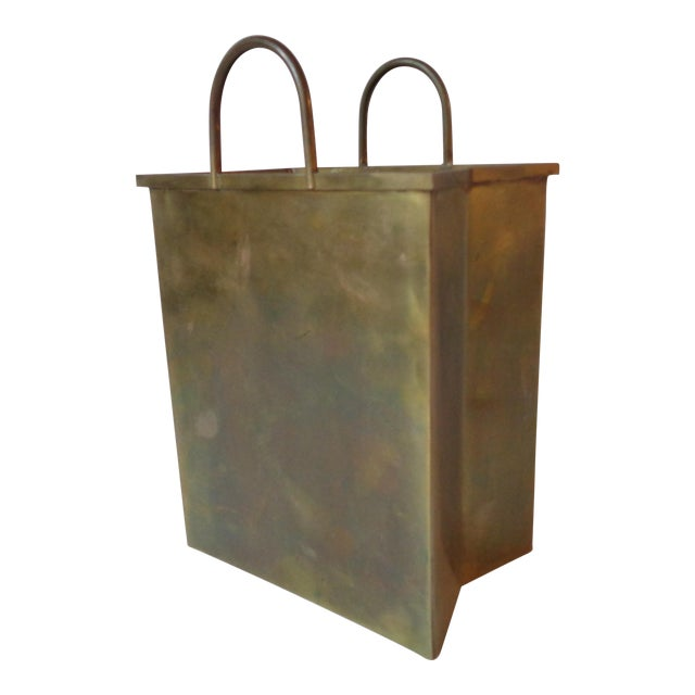 Italian Brass Shopping Bag - Image 1 of 5