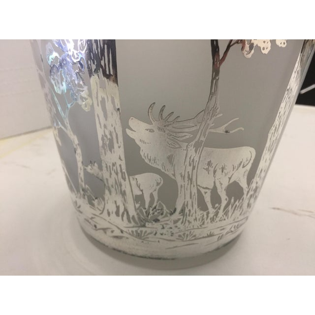 Large Antique Silver Overlay Scenic Vase For Sale - Image 9 of 10