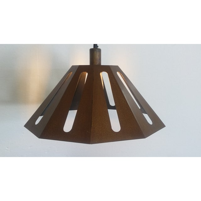 Missionary Pendant Light For Sale - Image 4 of 5