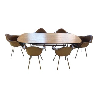 1960s Mid-Century Eames Conference or Dining Set