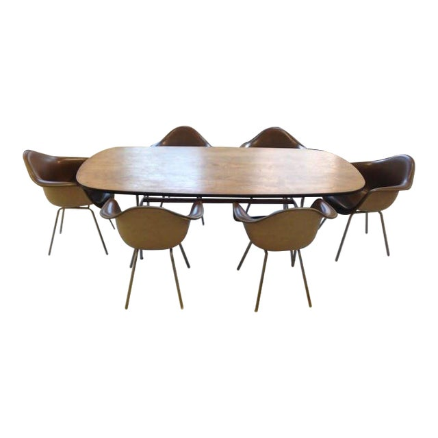 1960s Mid-Century Eames Conference or Dining Set For Sale