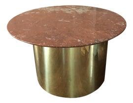 Image of Burgundy Side Tables