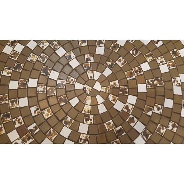 Mid-Century Modern Martz Mosaic Tile Coffee Table For Sale - Image 3 of 7