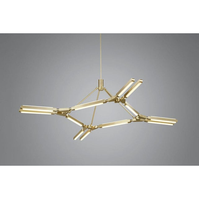 """By Pelle Starting Price: $15,780 in satin brass Specifications: 67"""" l x 67"""" w x 13"""" h (21lbs) Shown In: Satin Brass,..."""
