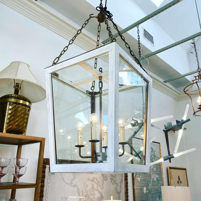 Julian Chichester Triangle Lantern For Sale In New York - Image 6 of 6