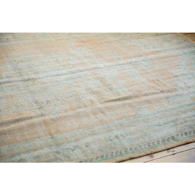"1960s Vintage Distressed Oushak Carpet - 6'4"" X 9'10"" For Sale - Image 5 of 12"