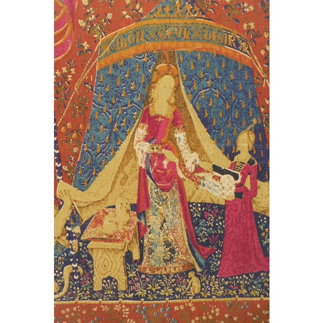 English Country Framed Tapestry - A Pair For Sale - Image 4 of 11