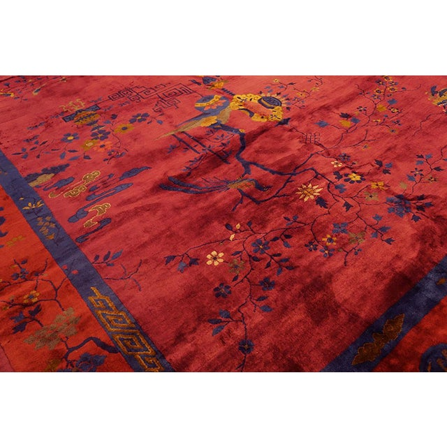 Art Deco Chinese Art Deco Rug For Sale - Image 3 of 7