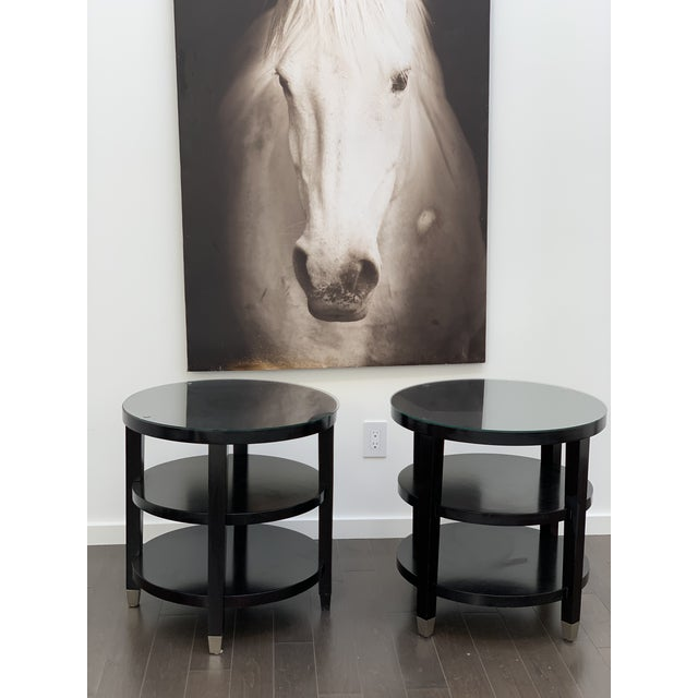 Side Tables From Gumps - a Pair For Sale - Image 9 of 9