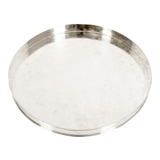 English Sheffield Silver Plated Barware / Tableware Tray For Sale