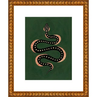 """""""Apple the Snake"""" Print by Willa Heart, 18"""" X 22"""" For Sale"""