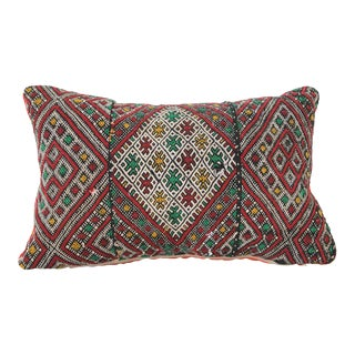 Moroccan African Tribal Throw Kilim Pillow For Sale
