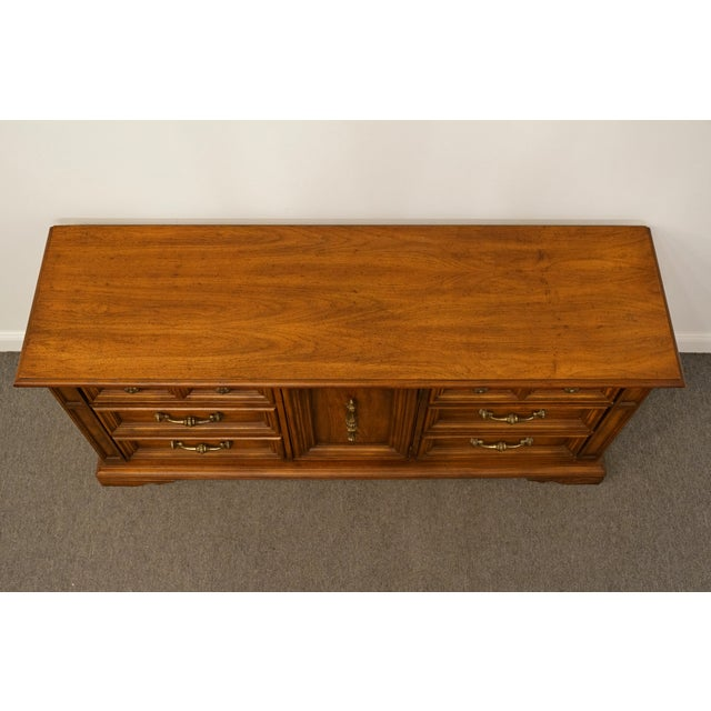 """Late 20th Century 20th Century Italian Stanley Furniture Neoclassical 68"""" Triple Door Dresser For Sale - Image 5 of 12"""