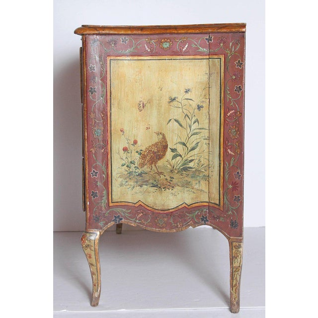 18th Century Italian Painted Commode For Sale - Image 9 of 13