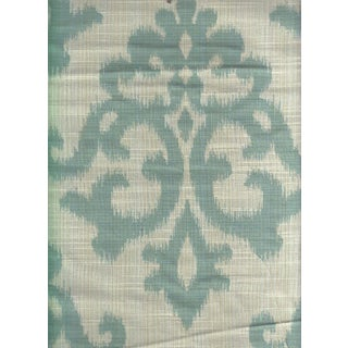 Kravet Reversible Odani Ikat in Seaglass - 4.25 Yards For Sale