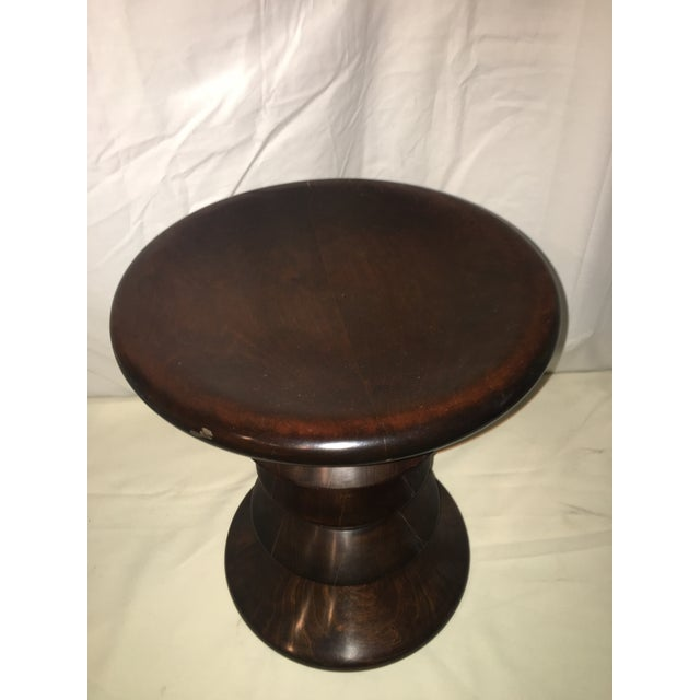 2010s Eames Inspired Low Stool For Sale - Image 5 of 6