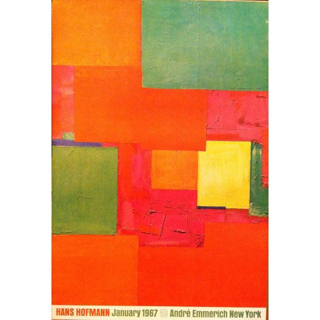 Vintage 1967 Hans Hoffman Andre Emmerich Poster For Sale - Image 4 of 4