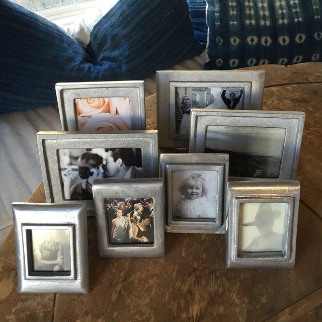 Vintage Metal Picture Frames - Set of 8 - Image 2 of 5