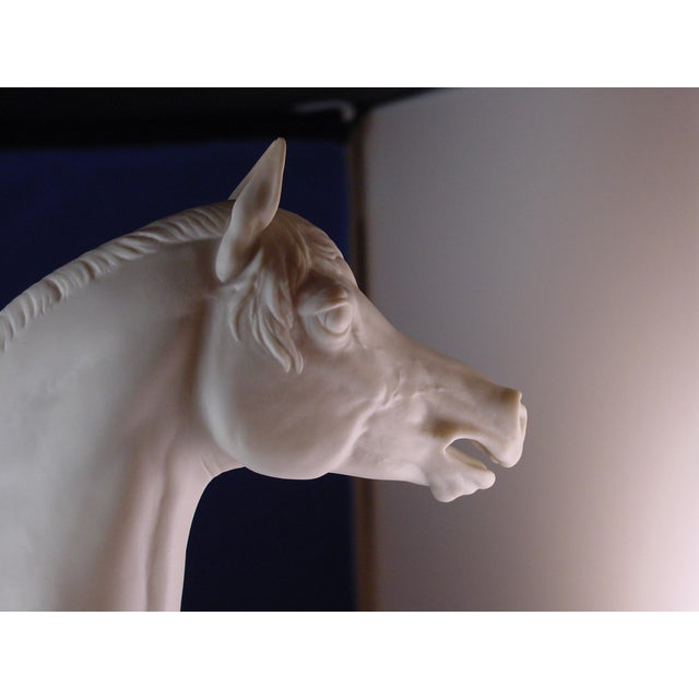 Hutschenreuther China 1960s Vintage Arabian Horse Sculpture For Sale - Image 4 of 13