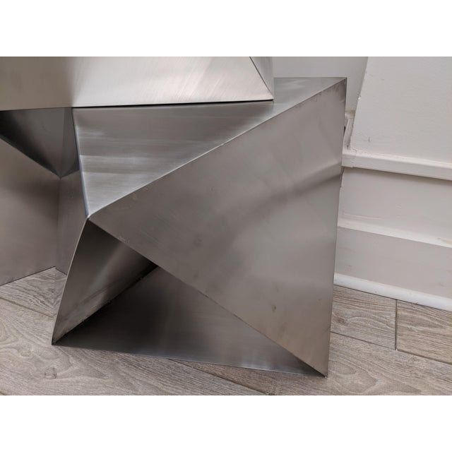 Modular Polyhedron Side Tables by Manfredo Massironi For Sale - Image 12 of 12