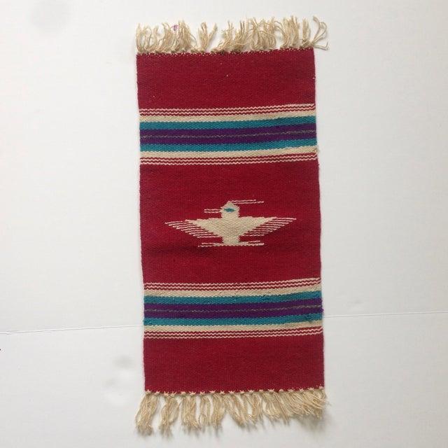 Handwoven Navajo Style Wall Hanging Rug - Image 5 of 11