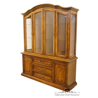 20th Century Traditional Stanley Furniture Lighted Fruitwood China Cabinet Preview