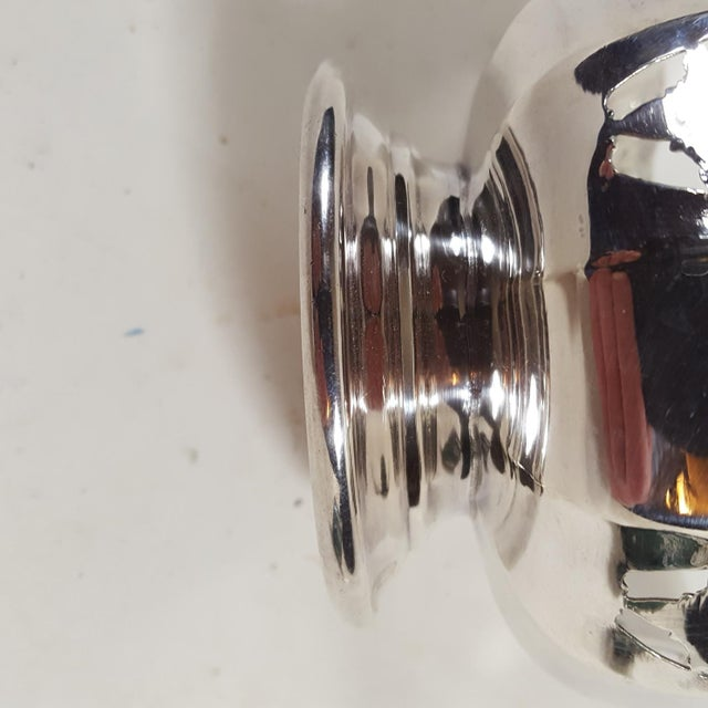 1920s 1920s Antique Mappin and Webb Silver Plated Candy Dish For Sale - Image 5 of 7