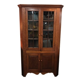 19th Century Tennessee Corner Hutch