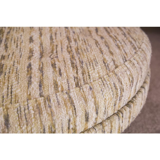 Round Mid-Century Modern Lounge Chair - Image 6 of 7