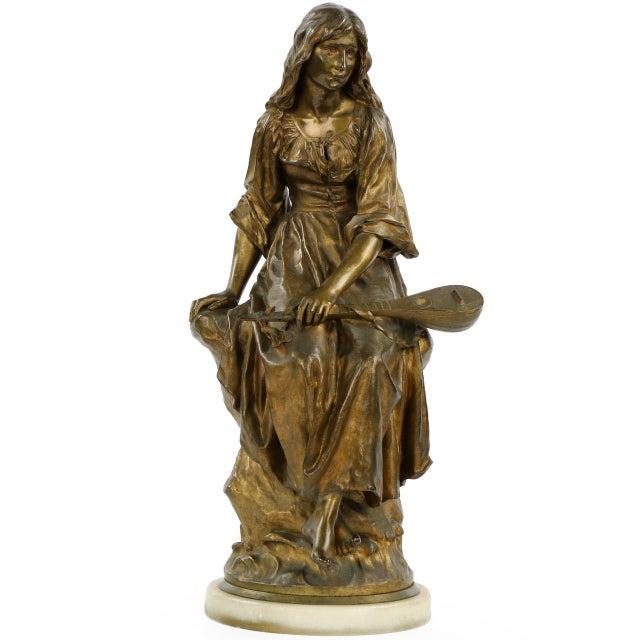 Paul Eugéne Mengin Bronze Sculpture - Image 1 of 10