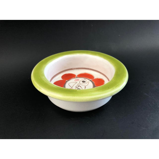 1960s Giovanni DeSimone Mid Century Pottery Bowl For Sale - Image 5 of 12