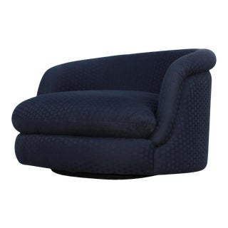 Milo Baughman for Thayer Coggin Large Swivel Lounge Chair For Sale