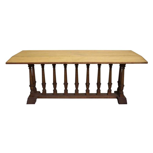 Spindle Leg Wooden Table - Image 2 of 6