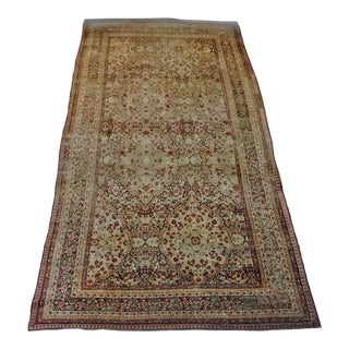 """Antique Palatial Persian Rug- 11'4""""x 25'6"""" For Sale"""