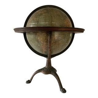 Antique W. & a.k. Johnston Terrestrial Globe For Sale