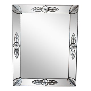 19th Century Louis XVI Style Venetian Mirror For Sale