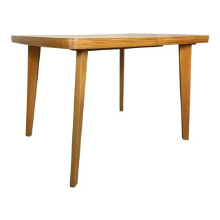 Thaden-Jordan Bent Plywood Dining Table For Sale