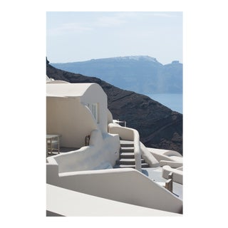 "Contemporary Large Photo Pigment Print, ""Greek Steps"" by Nicole Cohen"