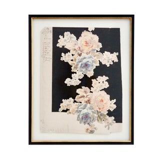 1900s French Textile Botanical Print 2