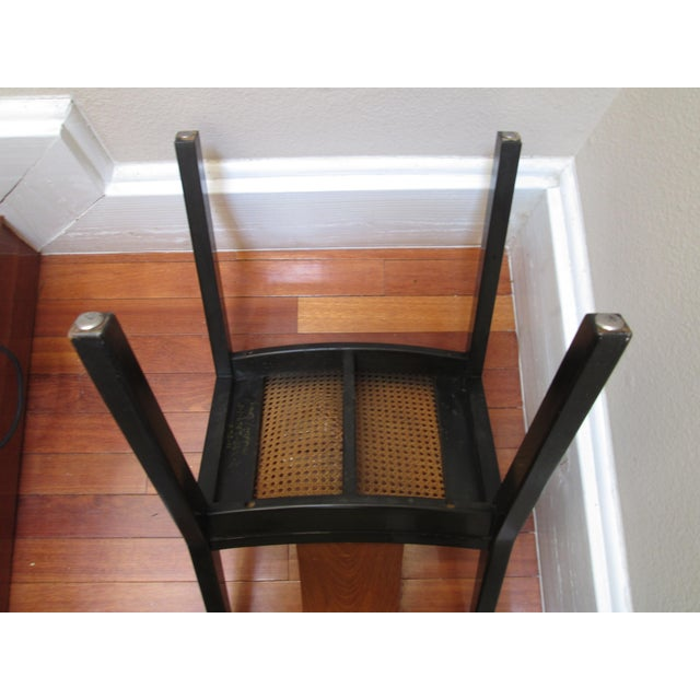 Wood 1950s Mid-Century Modern Michael Taylor for Baker Furniture Side Chair For Sale - Image 7 of 11