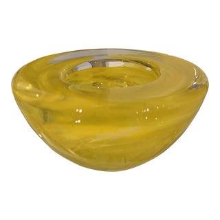 Kosta Boda Atoll Swirl Bowl For Sale
