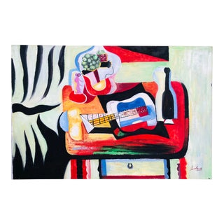 Abstract Expressionist Still Life For Sale