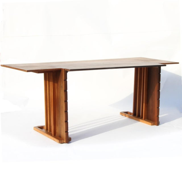 Modern Rare 1945 Unison Desk and Chair by Frank Lloyd Wright For Sale - Image 3 of 5