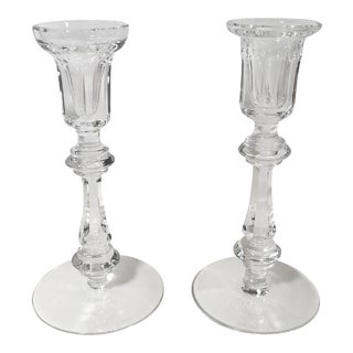 Waterford Crystal Candlesticks - a Pair