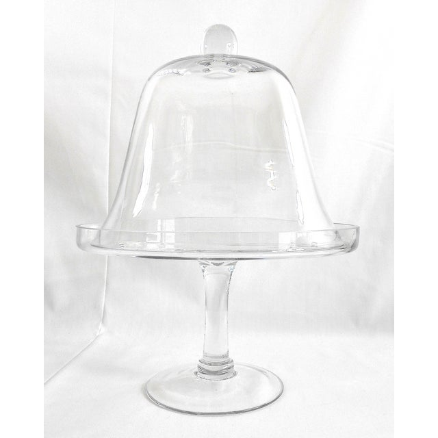 Glass Cake Stand With Dome Cover - Image 6 of 6