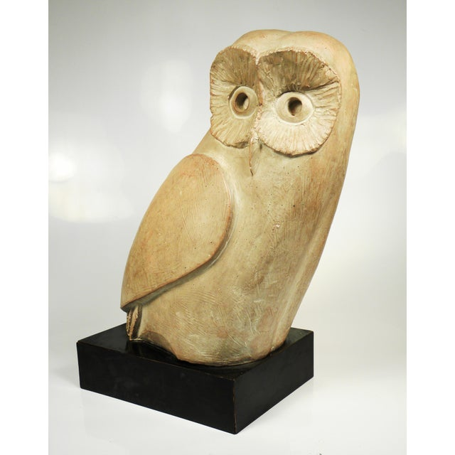 Vintage Mid-Century Austin Productions Owl Sculpture - Image 6 of 6