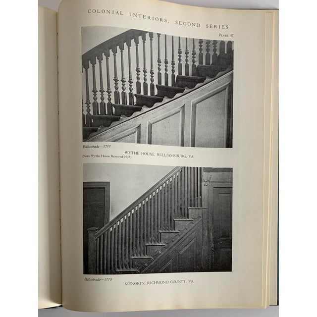 Colonial Interiors Hardcover Book For Sale - Image 10 of 13