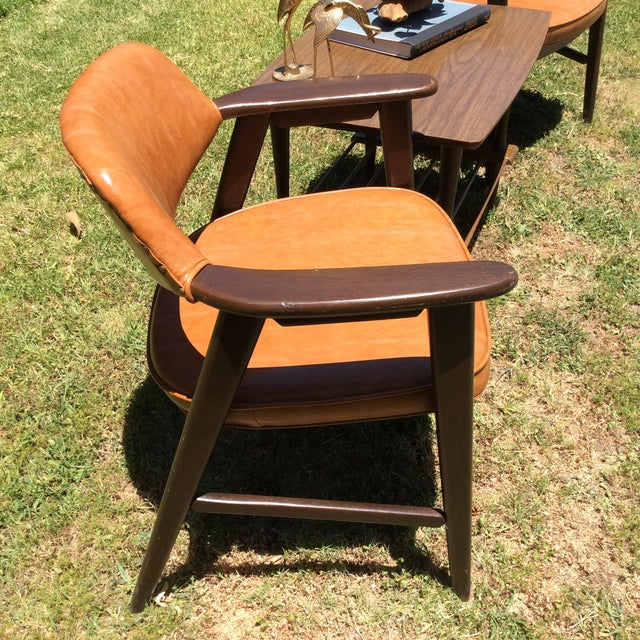 1970s Vintage Mid Century Paoli Lounge Chairs - A Pair For Sale - Image 5 of 13