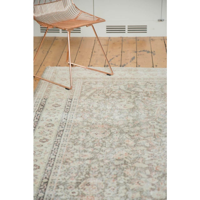 """Vintage Distressed Sivas Carpet - 7'2"""" x 10'7"""" For Sale In New York - Image 6 of 9"""