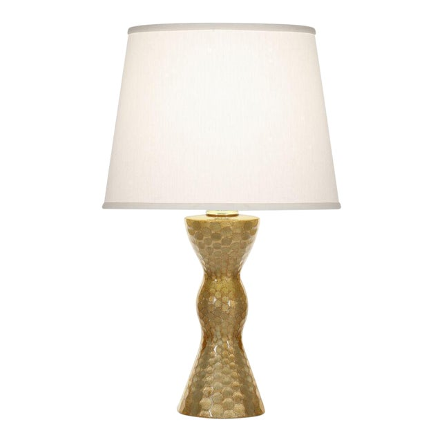 Amber & Platinum Calypso Table Lamp For Sale